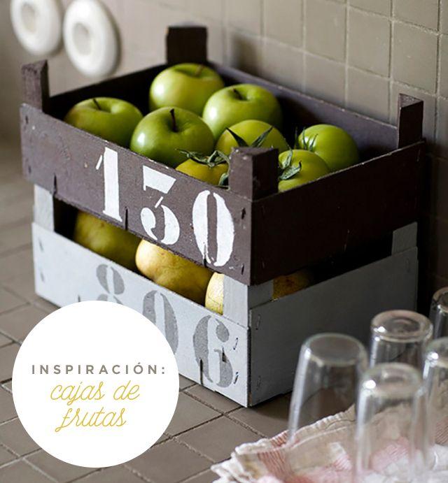 inspiración: cajas de frutas | milowcostblog♥