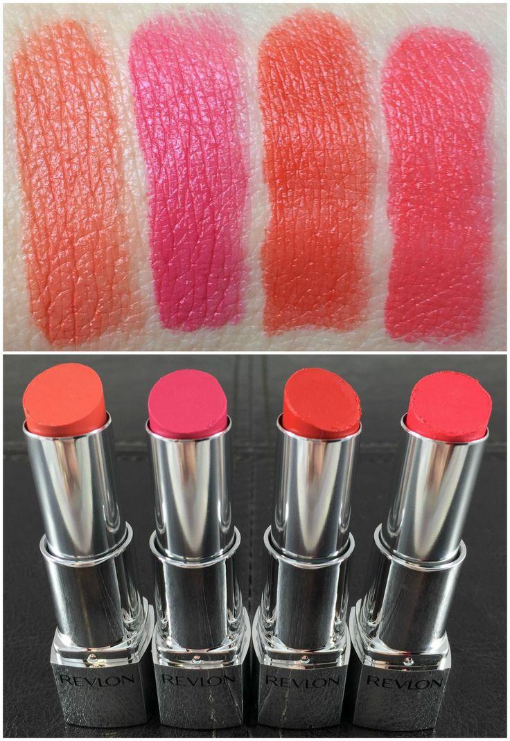 Revlon, Swatch And Lipsticks