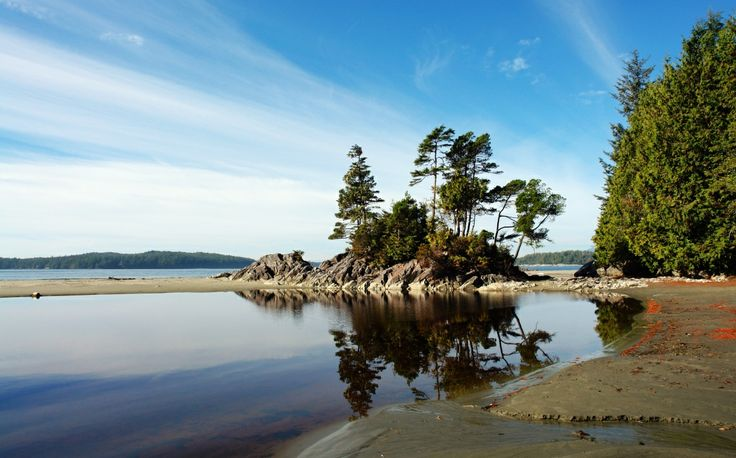 A mix of roaring tides and lush forest, Tofino is a serene spot to take in the scenery. #tofino #canada #canadaday