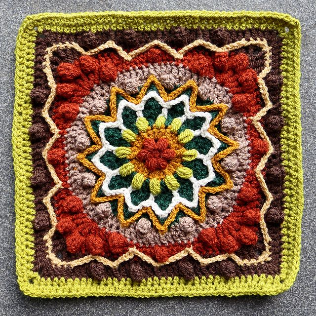 518 Best Crocheted Motifs Afghan Squares Images On Pinterest