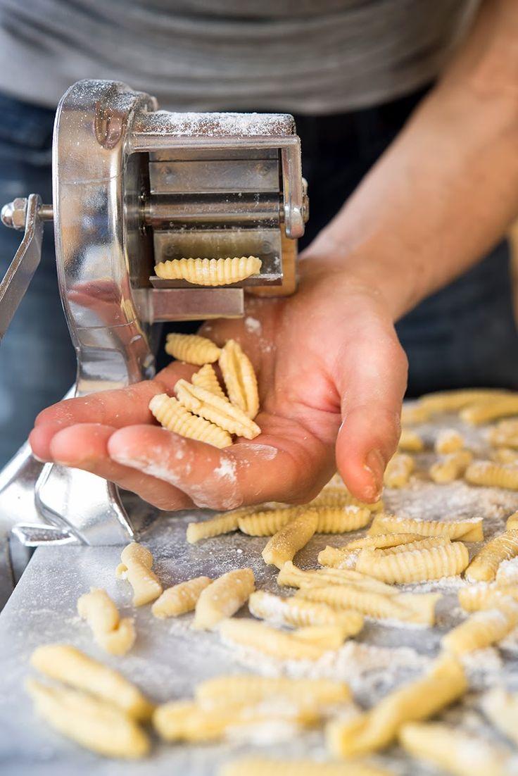 Homemade Ricotta Cavatelli                  {I must try this.}