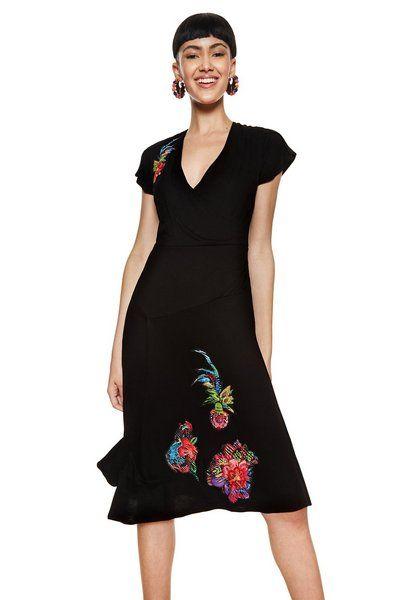 Vestido Asha Desigual. Descubre la colección primavera-verano 2018.  ¡Devoluciones y envío c4b961ad242