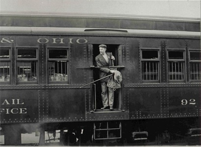 Post Office Railcar, 1913