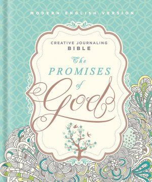 MEV Promises of God Creative Journaling Bible - Winner of Bible Cover of the Year