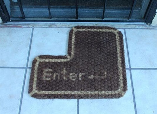 door mat  level:  geek