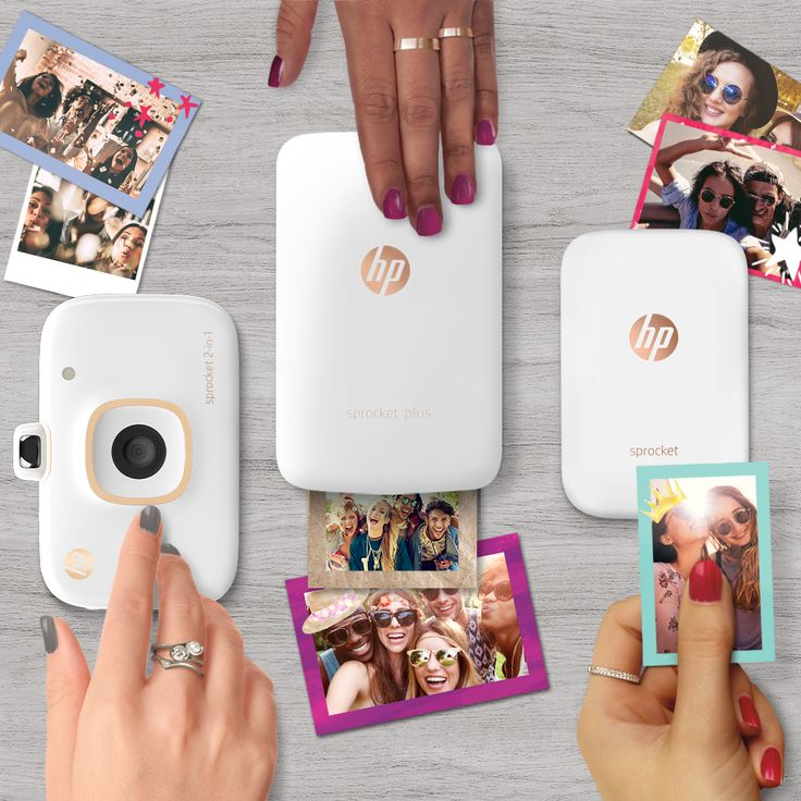 Put your personality into every print and get a $15 gift card on us when you purchase an HP Sprocket!