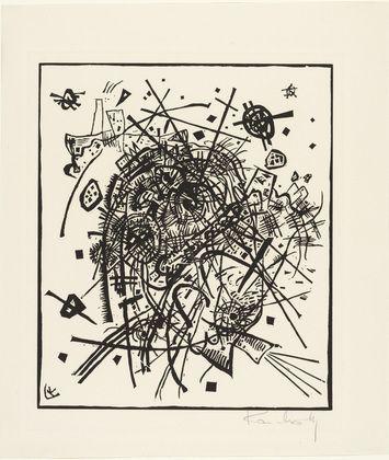 MoMA   The Collection   Vasily Kandinsky. Small Worlds VIII (Kleine Welten VIII) from Small Worlds (Kleine Welten). 1922