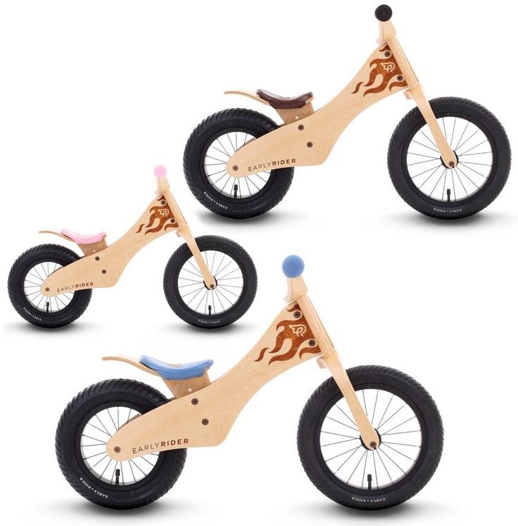 Eerste fiets van hout
