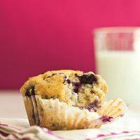 Muffin aux bleuets - Ricardo