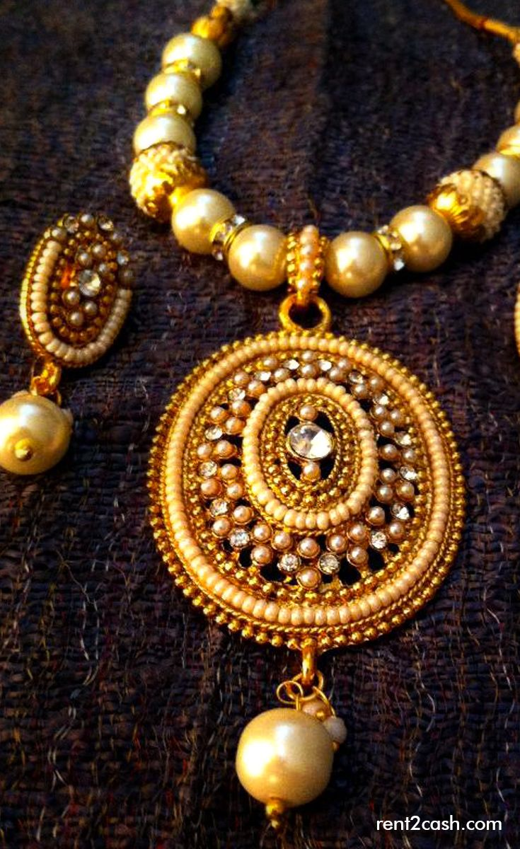Now the jewelries can be rented for few days as per the requirement. They are gorgeous & costly & this is the reason why Rent2cash searched for the availability of designer bridal jewelries that can be rented.