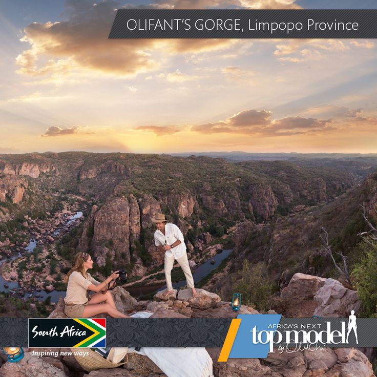 This spectacular landscape called Olifant's Gorge is found in Limpopo province in South Africa. The destination of choice for Africa's Next Top Model. #MeetSouthAfrica #travel #fun #adventure. www.southafrica.net