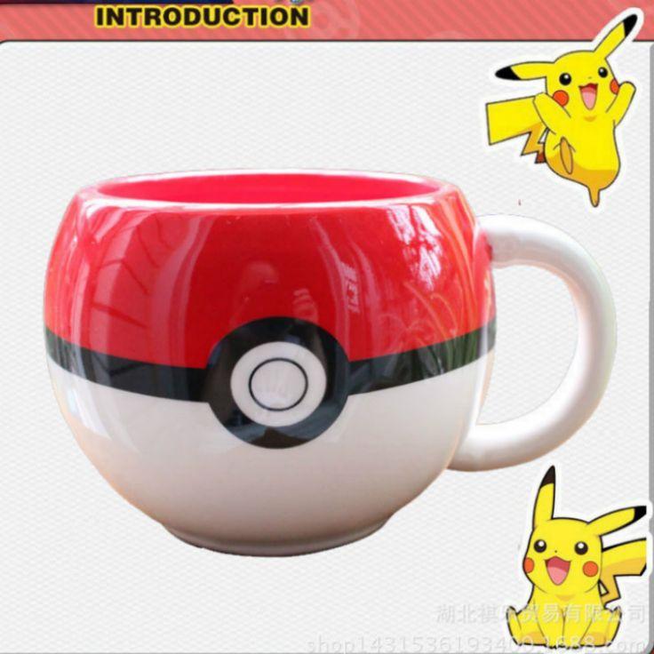 Cheap 1 Pz Carino Tasca Pokemon Pokeball Tazza di Ceramica Pikachu Elf Latte Caffè tazza Del Fumetto Della Tazza Tazza di Tè con impugnatura Per Il Ragazzo Regalo A Sorpresa, Compro Qualità   direttamente da fornitori della Cina: 100% nuovo e di alta qualità; materiale: Ceramica dimensione: tazza di lunghezza (con maniglia) 13.5 cm * diametro ta