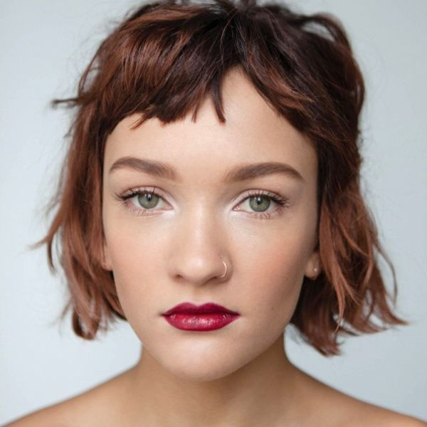The best thing about a chop is that it works with pretty much any length or style. Want to keep your long locks? Go for it. Leaning more towards a lob? That works, too. You can add layers, bangs, different hues — it may be low-maintenance, but it's certainly not short on possibilities.