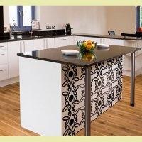 Stencils: Dreams Kitchens, Cut Edge Stencil, Stencil Patterns, Awesome Kitchens, Kitchens Ideas, Allov Stencil, Kitchens Islands, Kitchens Bar, Kitchens Cabinets