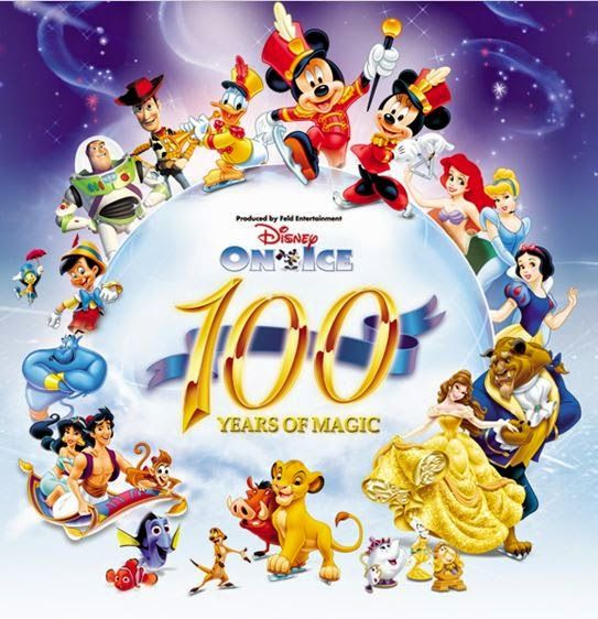 Disney on Ice, 100 Years of Magic  Going today!!!! 24th December 2014