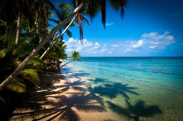 A beach at Kwajalein Atoll, Marshall Islands. Many, many hours spent on these beaches. <3