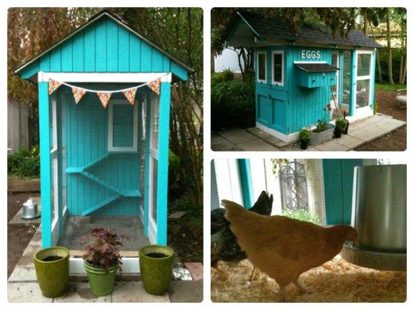 Cute chicken coop plans - photo#30