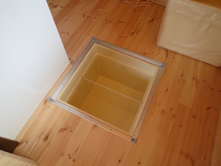 Making Under Floor Storage Amazing Places Root Cellar