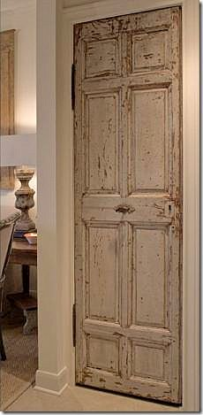 Re-purposed Antique door would be great laying on side hanging by my claw foot tub with shelf above it