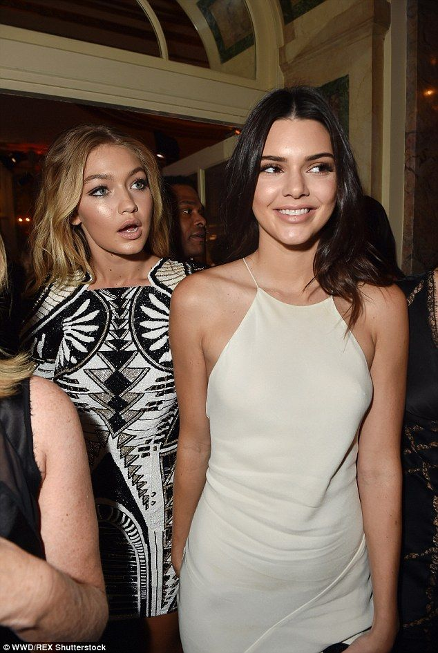 Stars of the show: Gigi and Kendall were just two of the famous faces to celebrate the close of NYFW