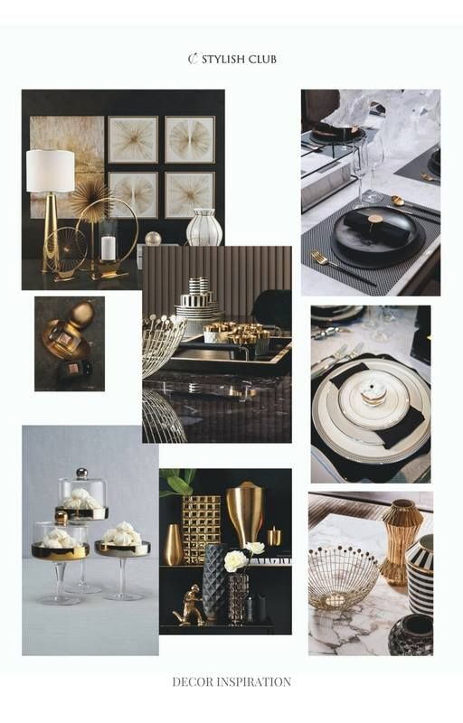 Who can resist to beautifully designed decor items? Especially to the dark tone ones. They go so well along with the brass details and the beige tones. Today we are sharing with you our advice on how to decorate the Voilier dining table. It already brings the festive feeling as well in a very glamorous way.  For more, visit our website: ☛ stylishclub.pt