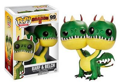 How to Train Your Dragon 2 Belch and Barf Pop! Vinyl Figure