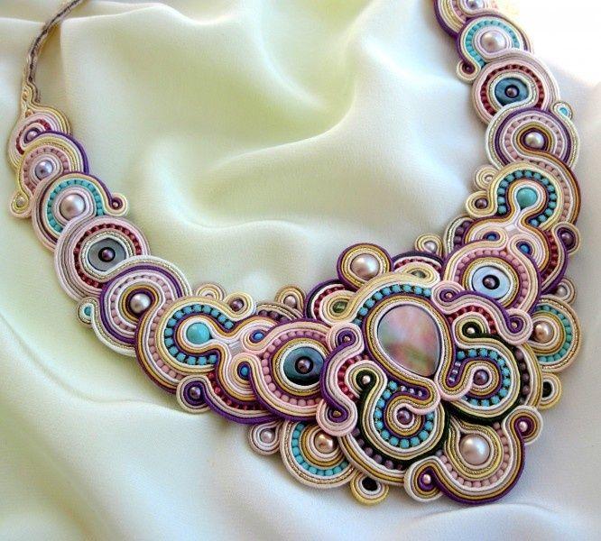 soutache necklace