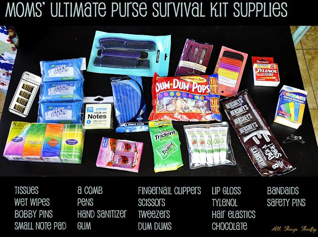 "The ""Mom's Essential kit""  need to put one of these together!"