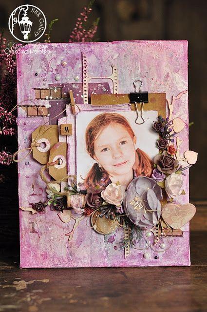 UHK Gallery - inspiracje: Prezent dla Babci- blejtram ze zdjęciem wnuczki