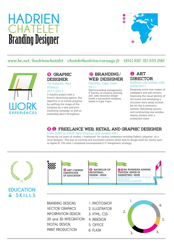106 best DESIGN Resumes images on Pinterest Resume design - graphic design resume objective examples