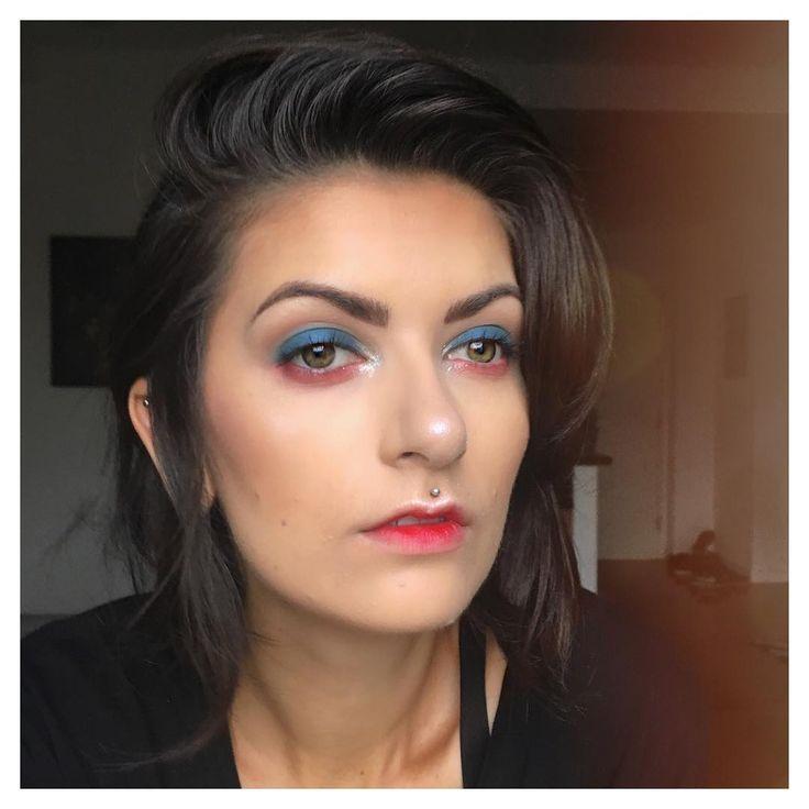 Bastile Day / Independance Day  Makeup Look // vegan // cruelty free