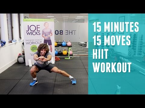 15 Minute Fat Burning Beach Workout | Quick HIIT You Can Do Anywhere | The Body Coach - YouTube