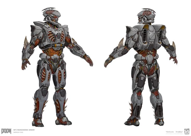 Armor set for DOOM Multiplayer. All Images © id Software, LLC, a Zenimax Media Company.