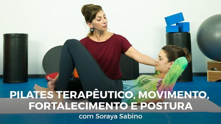 Aula de pilates terapêutico: respiração, fortalecimento e postura