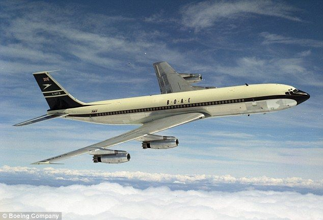 On May 27, 1960, the British Overseas Airways Corporation (BOAC) introduced the Boeing 707 aircraft on its London to New York service