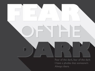 Fear of the dark by Thomas Olofsson