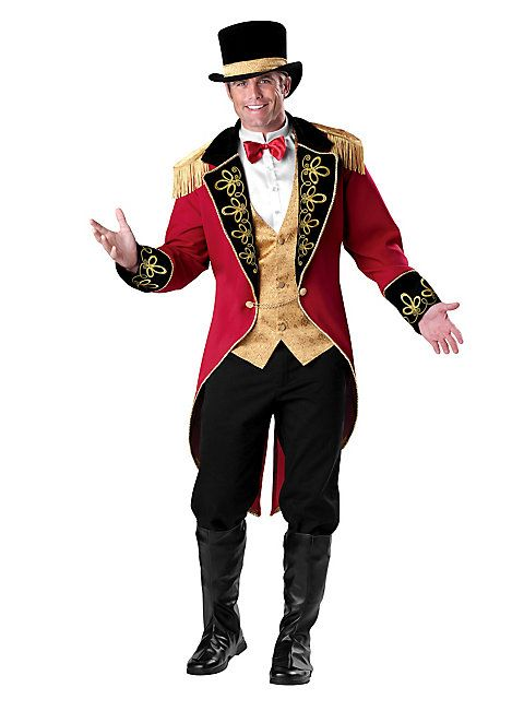 Zirkusdirektor Kostüm von maskworld.com #karneval #fasching #circus #costume