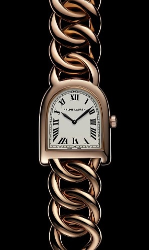I fell in love with this...: Ralph Lauren, Rose Gold Watches, Lauren Watches, Stirrup Watches, Stirrup Collection, Bracelets Watches, Branded Watches