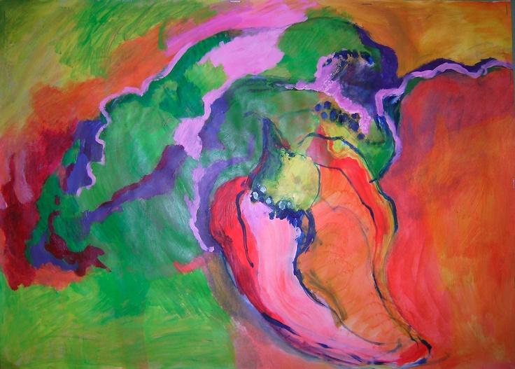 art work by Janet Kumar