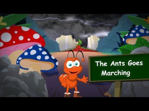 CHILDREN LYRICS - THE ANTS GO MARCHING LYRICS