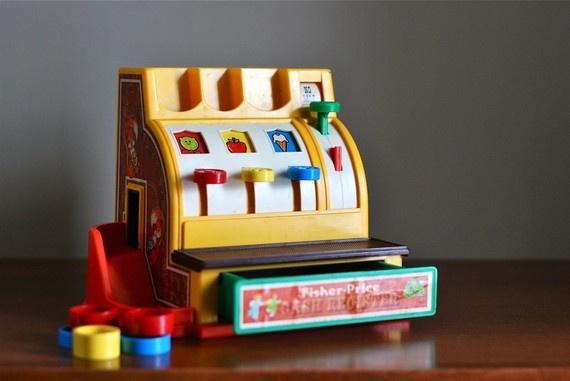 cash registerFisher Price Toys, Vintage Cash, Price Cash, Vintage Fisher Price, Fisher Pric Vintage, Fisher Pric Toys, Price Vintage, Registered Fisher Pric, Cash Registered