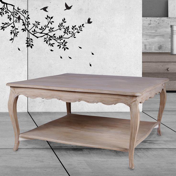 Meja kopi yang menarik ini memiliki tingkat ganda yang sangat berguna untuk kerapian ruang keluarga. Desainnya memiliki lekukan sensual Prancis yang kita kenal dan sukai pada kaki dan samping kaki relnya, dan juga di sekitar tepi bagian atas dan pada rak bagian bawah. Perancang telah mencocokkan kurva komponen ini bersama-sama dalam mode elegan yang menghasilkan bentuk yang paling indah untuk dipandang di mata. Terbuat dari kayu Mindi yang solid dan stabil, mejanya kuat dan tahan lama, dan…