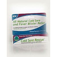 COLD SORE RESCUE GEL pack of 7 by PEACEFUL MOUNTAIN. $86.44