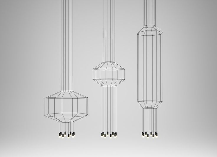 Top 10: Arik Levy's feeling for design | Wireflow Lamp, Vibia, 2013 |