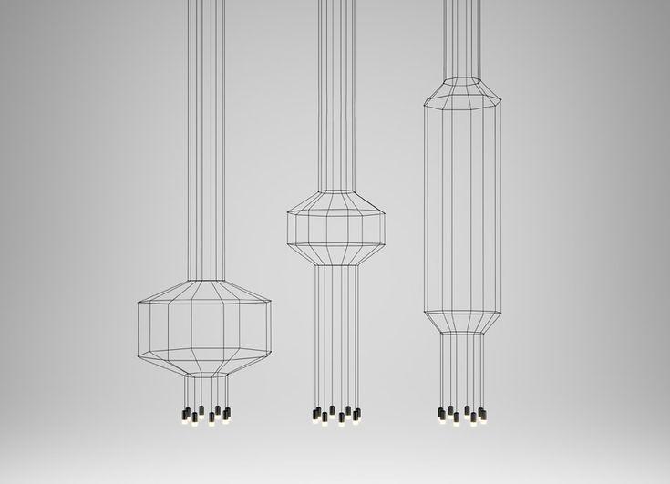Top 10: Arik Levy's feeling for design | Wireflow Lamp, Vibia, 2013 |