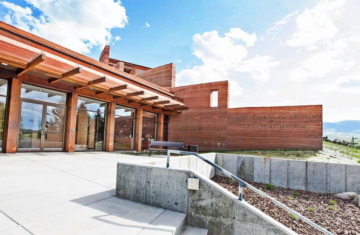 Brinton Museum – SIREWALL | Structural Insulated Rammed Earth — This is by far the tallest load-bearing modern rammed earth structure on the planet