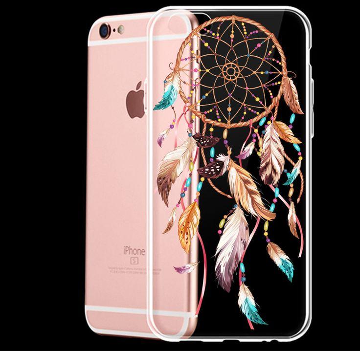 Design a dream-catcher image for a mobile phone case.