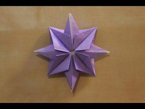 Origami Star. House decorations. Ideas for Christm…