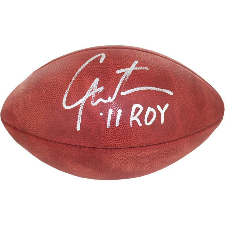 Cam Newton Signed and Inscribed ROY NFL Duke Football - This item is a Cam Newton Signed and Inscribed ROY NFL Duke Football. Gifts > Collectibles > Nfl Memorabilia. Weight: 1.00