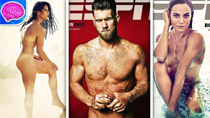 ESPN Body Issue's Best Naked Athletes of 2015